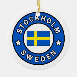 Adorno De Cerámica Estocolmo Suecia