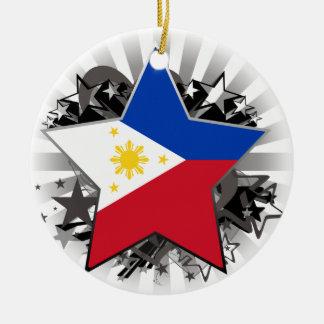 Adorno De Cerámica Estrella de Filipinas