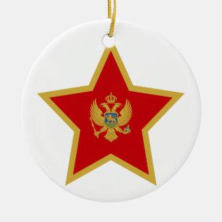 Adorno De Cerámica Estrella de Montenegro
