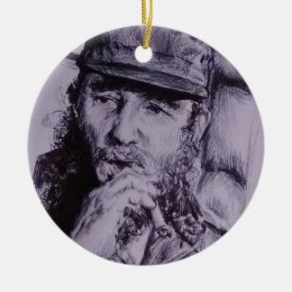 Adorno De Cerámica Fidel Castro