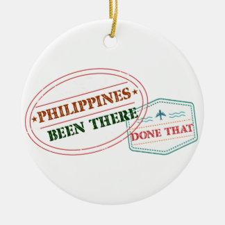 Adorno De Cerámica Filipinas allí hecho eso