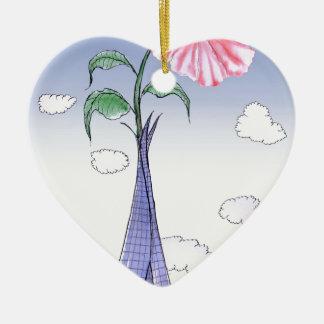 Adorno De Cerámica Flower power de ShardArt de Tony Fernandes