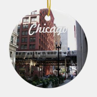 Adorno De Cerámica Foto del viaje de Chicago