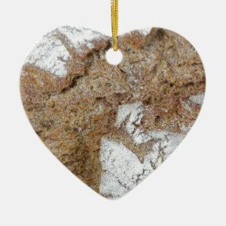 Adorno De Cerámica Foto macra de la superficie del pan marrón