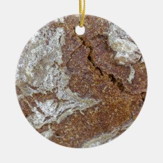 Adorno De Cerámica Foto macra de la superficie del pan marrón de Ger