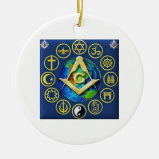 Adorno De Cerámica Freemasonry todas las religiones