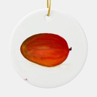 Adorno De Cerámica Fruta del mango