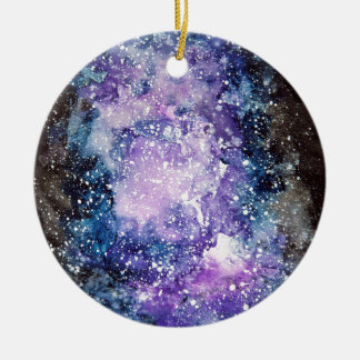 Adorno De Cerámica Galaxia cósmica