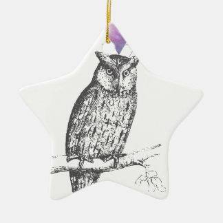 Adorno De Cerámica Galaxy owl 1