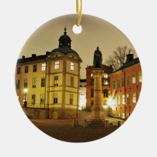 Adorno De Cerámica Gamla Stan en Estocolmo, Suecia