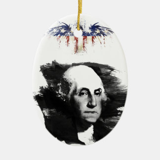 Adorno De Cerámica George Washington