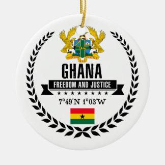 Adorno De Cerámica Ghana