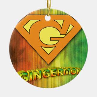 Adorno De Cerámica Gingermon