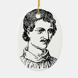 Adorno De Cerámica Giordano Bruno