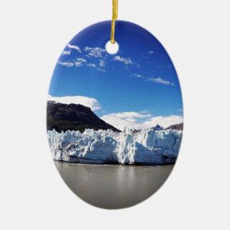 Adorno De Cerámica Glaciar de Alaska
