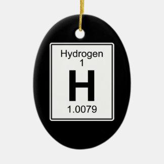 Adorno De Cerámica H - Hidrógeno