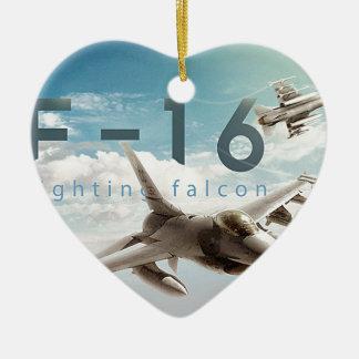 Adorno De Cerámica Halcón que lucha F-16