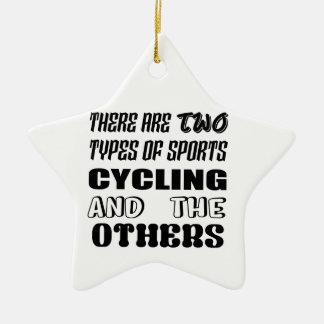 Adorno De Cerámica Hay dos tipos de ciclo y de otros de los deportes