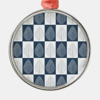 Adorno De Cerámica Hoja mágica en azul