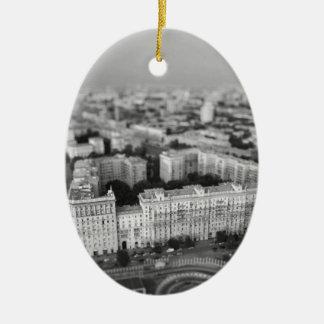 Adorno De Cerámica Horizonte de B&W Moscú