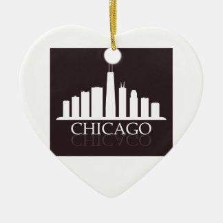 Adorno De Cerámica horizonte de Chicago