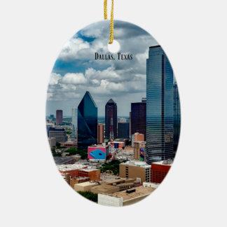 Adorno De Cerámica Horizonte de Dallas, Tejas