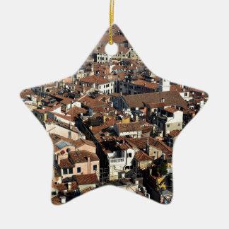 Adorno De Cerámica Horizonte de la ciudad de Venecia