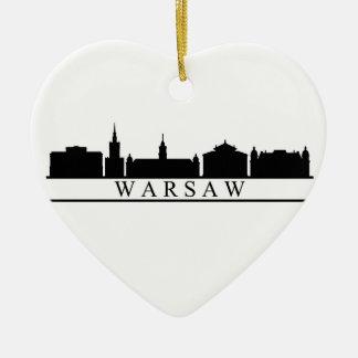 Adorno De Cerámica horizonte de Varsovia