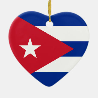 Adorno De Cerámica ¡I corazón Cuba!