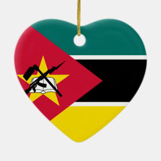 Adorno De Cerámica I corazón Mozambique