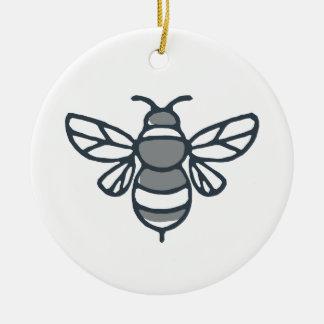 Adorno De Cerámica Icono de la abeja del abejorro