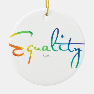 Adorno De Cerámica Igualdad