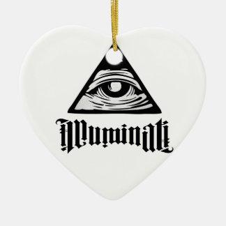 Adorno De Cerámica Illuminati
