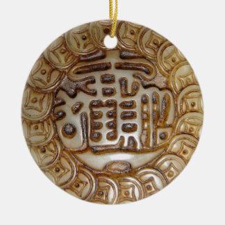 Adorno De Cerámica ¡Imán chino antiguo del dinero!