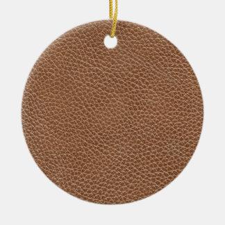 Adorno De Cerámica Imitación de cuero Brown natural