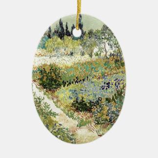 Adorno De Cerámica Jardín de Vincent van Gogh en Arles