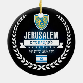 Adorno De Cerámica Jerusalén