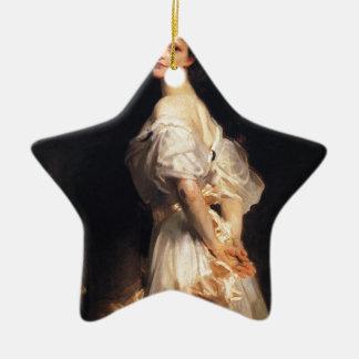 Adorno De Cerámica John Singer Sargent - Nancy Astor - bella arte