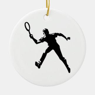 Adorno De Cerámica Jugador de tenis