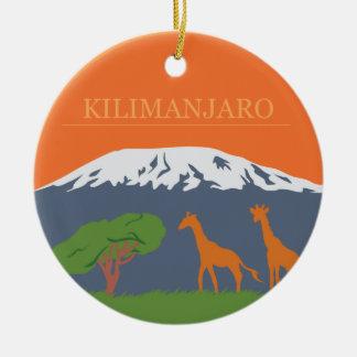 Adorno De Cerámica Kilimanjaro