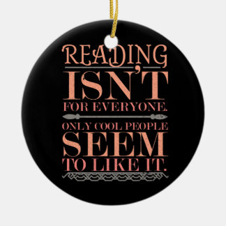 Adorno De Cerámica La lectura no es para cada uno solamente gente