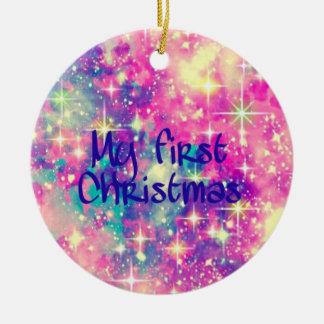 Adorno De Cerámica La mi primera Navidad