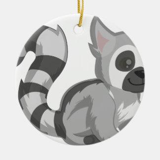 Adorno De Cerámica Lemur