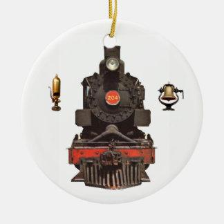 Adorno De Cerámica Locomotora de vapor