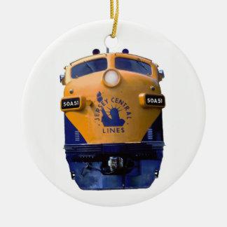 Adorno De Cerámica Locomotora diesel del art déco