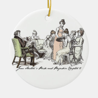 Adorno De Cerámica Los Bennets de P&P de Longbourn - de Jane Austen