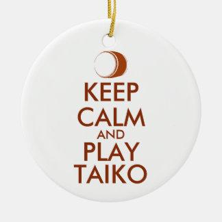 Adorno De Cerámica Los regalos de Taiko guardan personalizado del