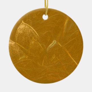 Adorno De Cerámica Lotus de oro grabó al agua fuerte el modelo barato