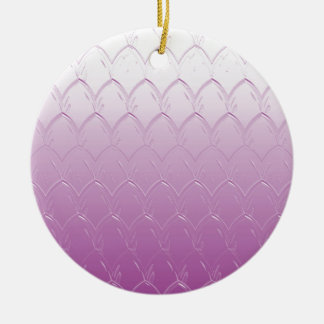 Adorno De Cerámica Luz a las escalas púrpuras oscuras