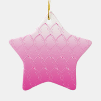 Adorno De Cerámica Luz a las escalas rosadas oscuras